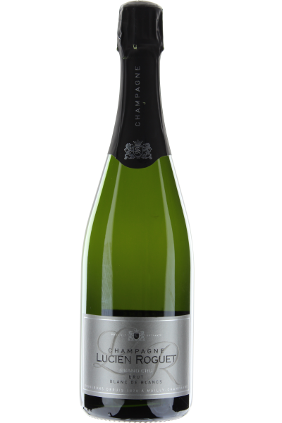 Champagne Blanc de Blanc Lucien Roguet Brut Grand Cru