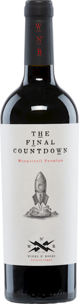The Final Countdown 2019 Monastrell Prem Wines N'Roses D.O. Valencia