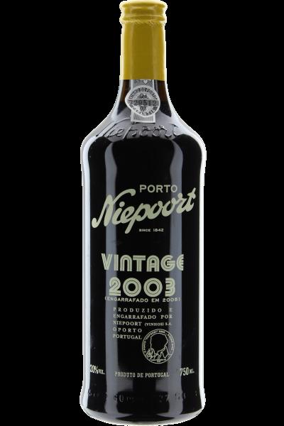 Vintage 2003 Portwein Niepoort DOC Douro