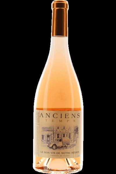 Anciens Temps Syrah-Cinsault Rosé 2020 Le Bon vin de Notre Région