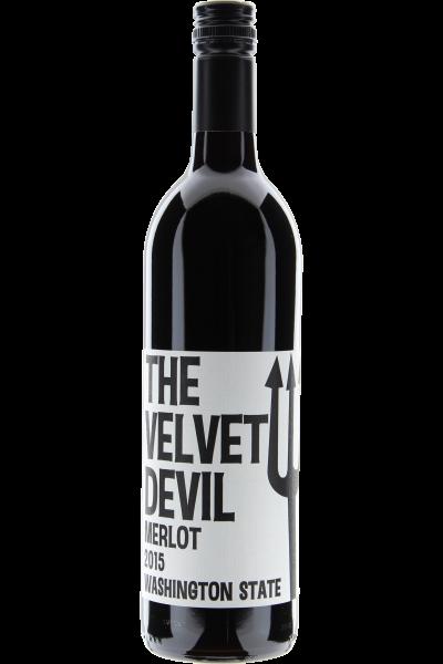 The Velvet Devil Merlot 2015 Washington State -Charles Smith Wines