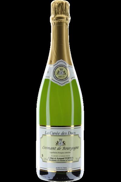 Crémant de Bourgogne Cuvée des Ducs Brut Celine et Armand Vernus
