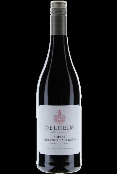 Delheim Shiraz Cabernet Sauvignon 2017 Coastal Region Vegan