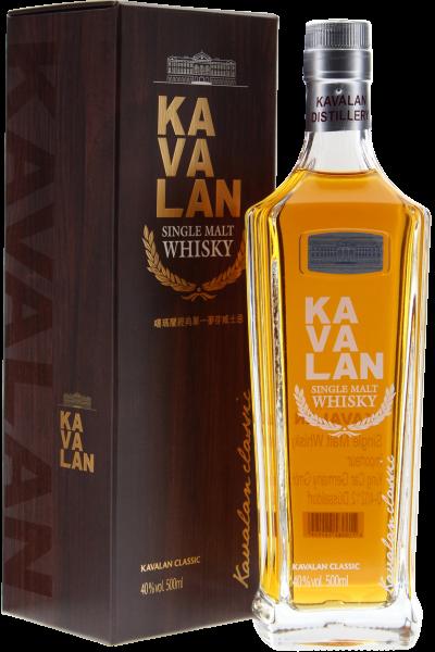 Kavalan Single Malt Whisky Pure Taiwan in Geschenkpackung