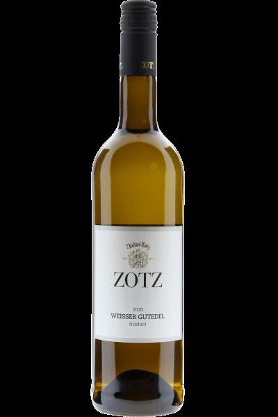 Zotz Weisser Gutedel trocken 2020 Gutswein QbA Markgräflerland