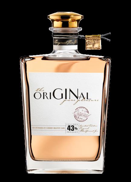 Gin The Original EDT. Michael Scheibel Fassgelagert im Cherry Brandy Cask