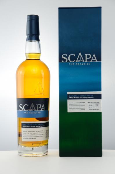 Scapa Skiren The Orcadian Single Malt, Whisky in Geschenkpackung