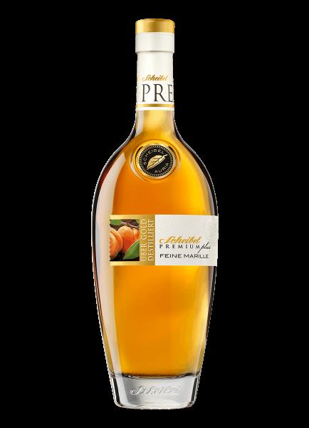 Premium plus feine Marille Scheibel Spirituose mit Fruchtauszug