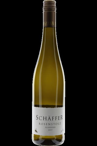 Rosenstolz feinherb 2017 Hambacher Schlossberg Weingut Schäffer