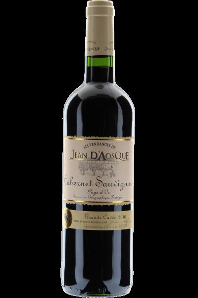 Cabernet Sauvignon Jean d´Aosque 2016 Vin de Pays d´Oc