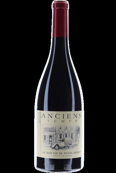 Anciens Temps Cabernet-Syrah 2020 Le Bon vin de Notre Région