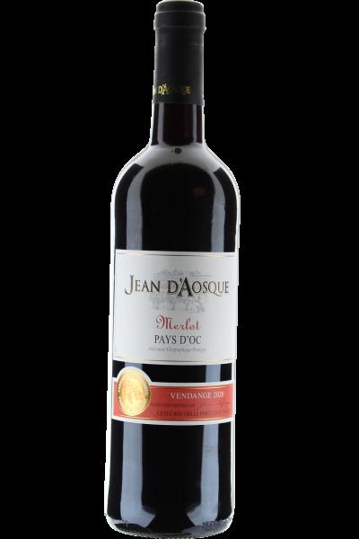 Merlot Jean d´Aosque 2020 Vin de Pays d´Oc
