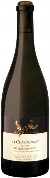 Chardonnay Reserve de Bernard Ravet 2016 La Côte, Schweiz - Barrique