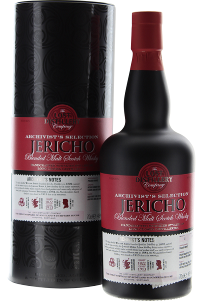 The Lost Distellery Archivist Jericho Whisky in Geschenkpackung