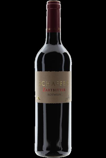 Zartbitter Rotweincuvée trocken 2017 Weingut Schäffer