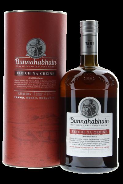 Bunnahabhain Eirigh Na Greine Islay Whisky in Geschenkpackung 1 l