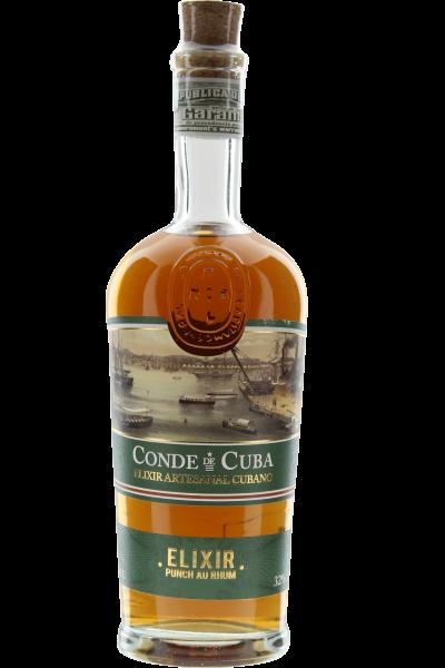 Conde de Cuba Elixir Punch au Rhum Rum