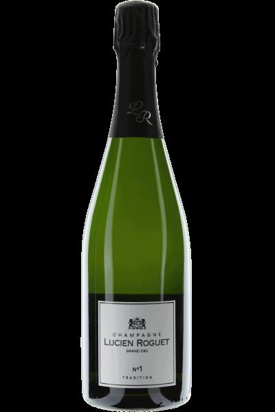 Champagne Brut Tradition Lucien Roguet No. 1 Grand Cru