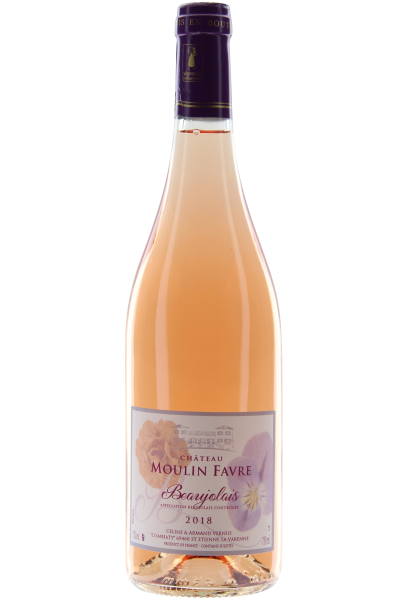Beaujolais Rosé 2018 Vieilles Vignes Château Moulin Favre Vernus