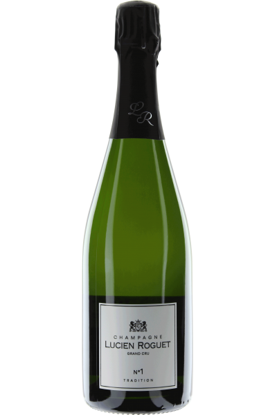 Champagne Brut Tradition Lucien Roguet No. 1 Grand Cru
