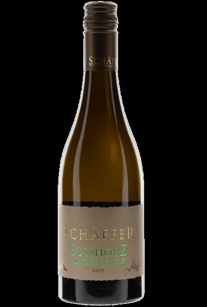 Süssholz ungeraspelt 2019 Schäffer Qualitätswein Pfalz Cuvée halbtrocken