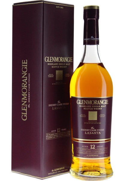 Glenmorangie Malt Scotch Whisky Lasanta 12 Years Old-Sherry Casks