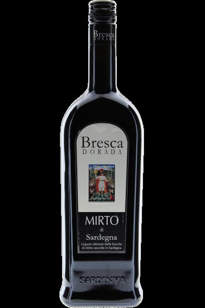 Mirto di Sardegna Liquore Bresca Dorada