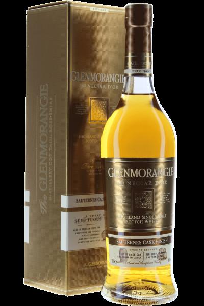 Glenmorangie Single Malt Scotch Whisky Nectar d'Or Sauternes Cask in GP