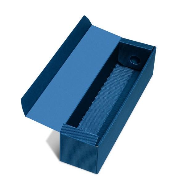 1er PK Offene Welle dunkelblau saphir