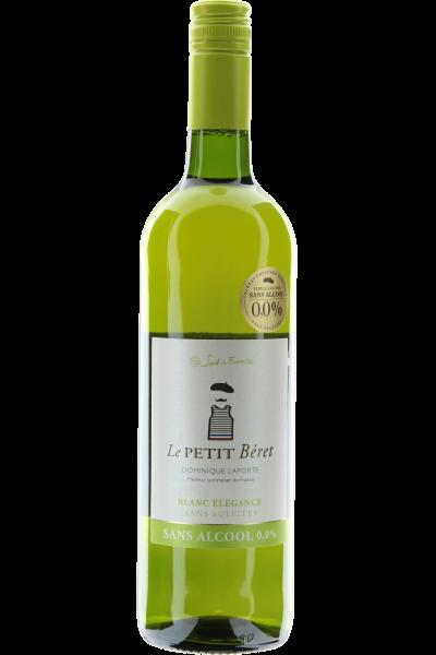 Le Petit Béret Blanc ÉléganceAlkoholfrei Sans Sulfites - Dominique Laporte