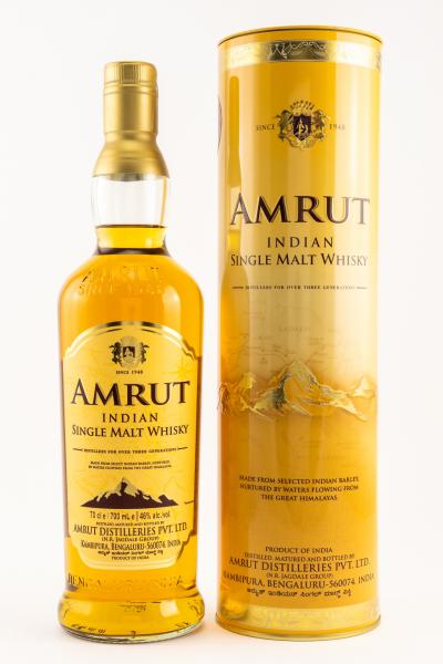 Amrut Indian Single Malt Indien Whisky in Geschenkpackung