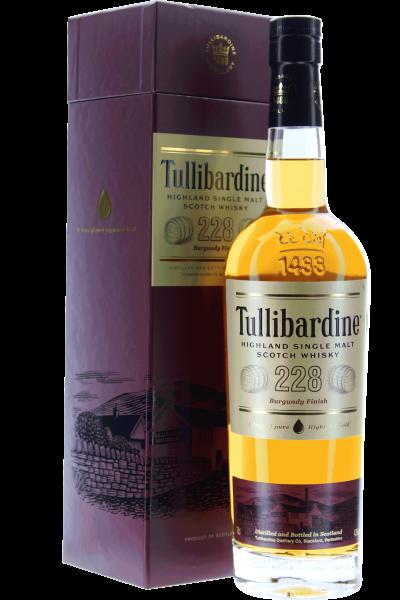Tullibardine Burgundy Finish 228 Whisky in Geschenkpackung