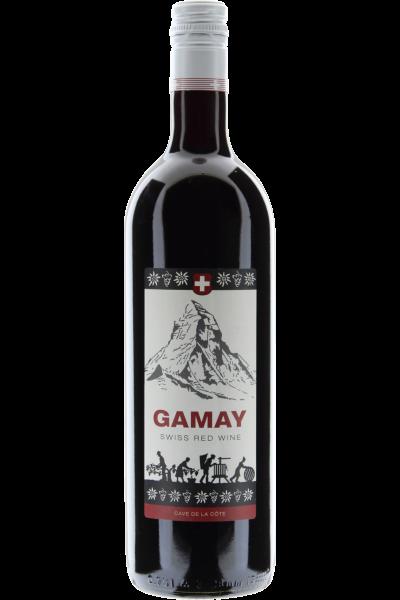 Gamay 2017 Swiss Red Wine Cave de la Côte, Schweiz