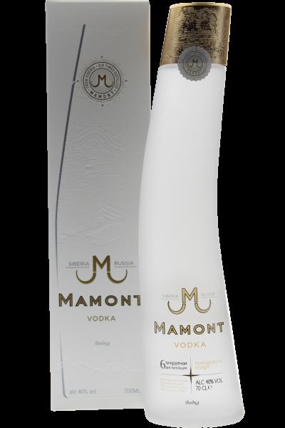Mamont Vodka in Geschenkpackung Siberia Russian