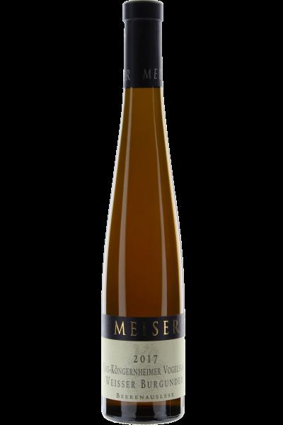 Weisser Burgunder Beerenauslese Meiser 2017 Gau-Köngernheimer Vogelsang 0,375 L