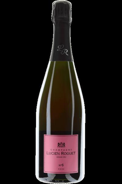 Champagne Rosé No. 5 Lucien Roguet brut Grand Cru