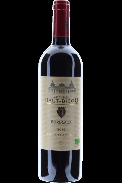 Château Haut-Bicou Bordeaux 2016 Biologischer Ausbau FR-BIO-01