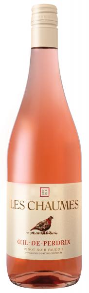 Les Chaumes Oeil de Perdrix 2019 Rosé Cave de la Côte - Pinot Noir Vaudois