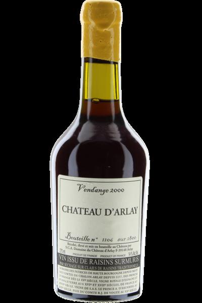 Vendage 2000 Vin Issu Raisins Surmuris Château d´Arlay 0,375 L