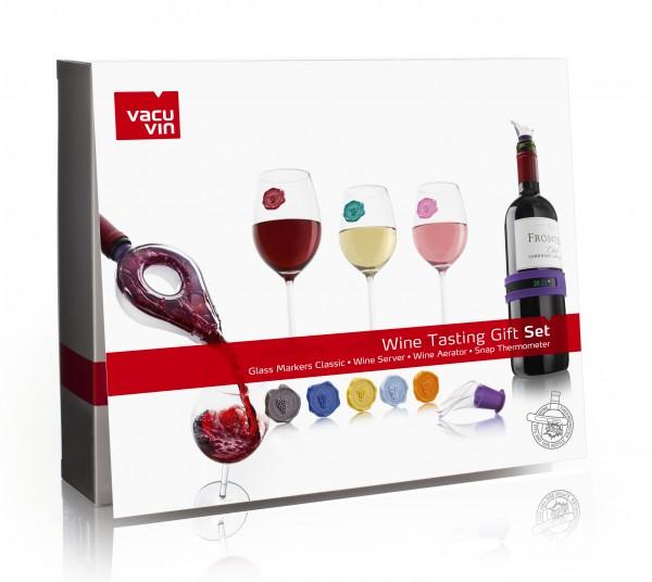 Wine Tasting Gift Set Cel Vacu Vin 3889560