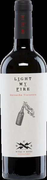 Light My Fire 2019 Garnacha Tintorera Wines N'Roses D.O. Valencia