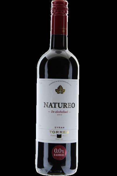 Natureo Tinto Syrah 2017 Torres Alkoholfreier Wein de-alcoholised