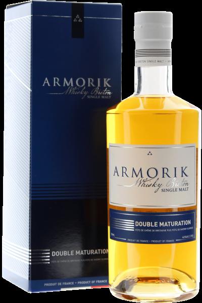 Armorik Double Maturation Breton Whisky in Geschenkpackung