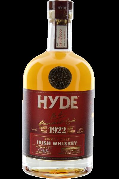 Hyde No. 4 Rum Finish Irish Whiskey Single Malt