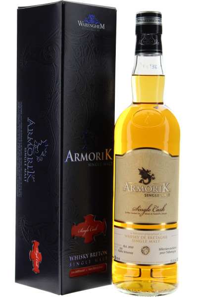 Armorik PX Sherry Single Cask 7 years Breton Whisky in Geschenkpackung