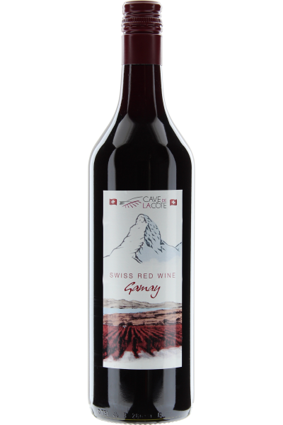 Gamay 2014 Swiss Red Wine Cave de la Côte, Schweiz