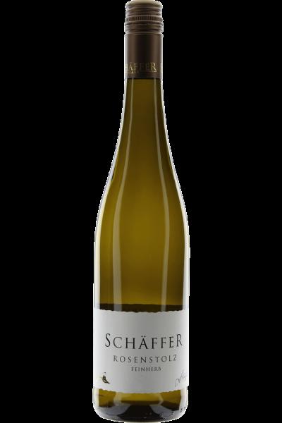 Rosenstolz feinherb 2018 Hambacher Schlossberg Weingut Schäffer
