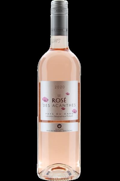 Le Rosé des Acanthes Pays du Gard 2020 Vignerons de Tavel
