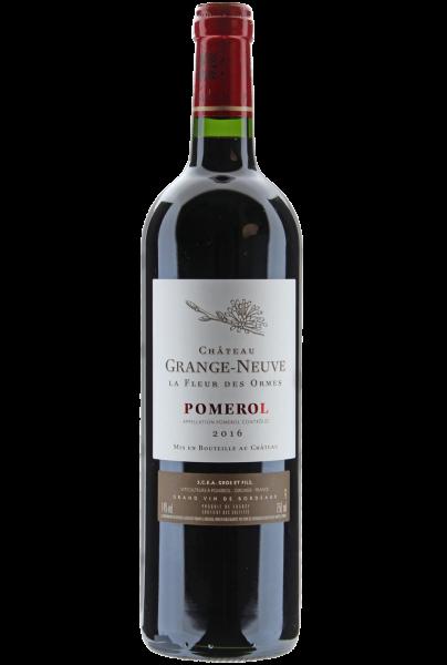 Château Grange-Neuve La Fleur des Ormes 2016 Pomerol Bordeaux