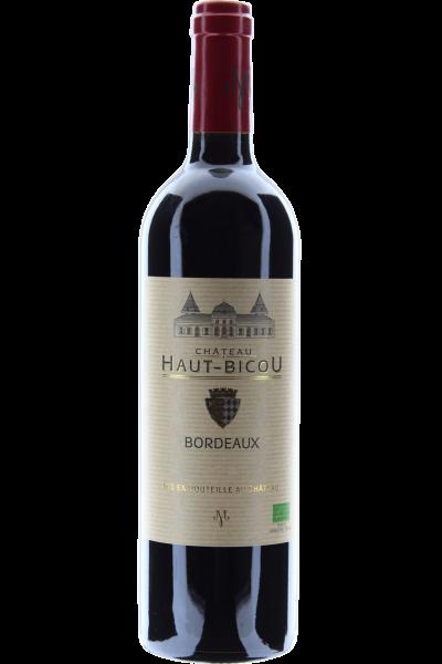 Château Haut-Bicou Bordeaux 2018 Biologischer Ausbau FR-BIO-01